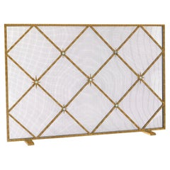 Celeste Fireplace Screen in African Gold
