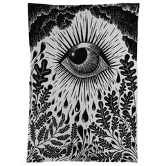 Celeste Mogador Evil Eye Throw by Saved, New York