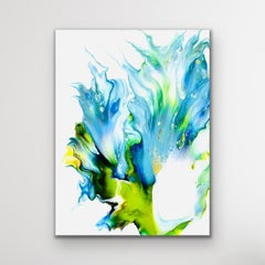 Abstract Contemporary Painting, Celeste Reiter, Signed Limited Edition Giclee'