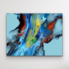 Abstract Contemporary Painting, Celeste Reiter, Signed Limited Edition Print