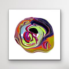 Abstract Contemporary Painting, Large Modern Giclee Print, LE Signed by artist.