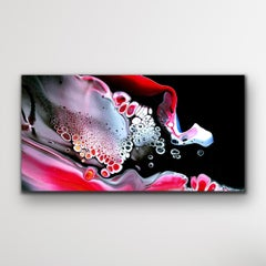 Abstract Contemporary Painting, Modern Giclee Print, LE Signed, Celeste Reiter