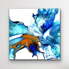 Abstract Modern Painting, Contemporary Large Giclee Print, LE Signed by Artist.