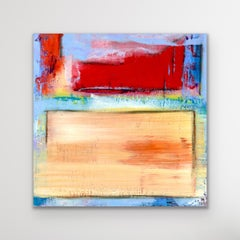 Colorful Abstract Painting, Large Modern Giclee Print, LE Signed by artist.