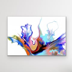 Contemporary Abstract Fluid Art, Celeste Reiter, Signed LE Modern Giclee Print