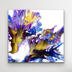 Contemporary Abstract Modern Painting, Large Giclee Print, LE Signed by artist.