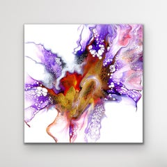 Contemporary Modern Abstract Painting, Large Giclee Print, LE Signed by artist.