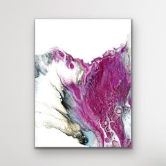 Modern Abstract Fluid Painting, Celeste Reiter, Signed Limited Edition Giclee'
