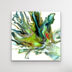 Modern Abstract Painting, Celeste Reiter, Signed Limited Edition Print