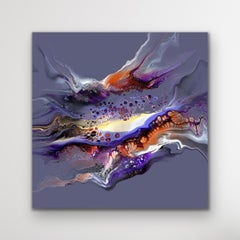 Modern Abstract Painting, Large Giclee Print, Limited Edition Signed by artist.