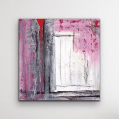 Modern Abstract Wall Art, Contemporary Painting, Indoor Outdoor Print on Metal