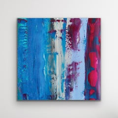 Modern Painting, Contemporary Wall Art, Indoor Outdoor Decor, Print on Metal