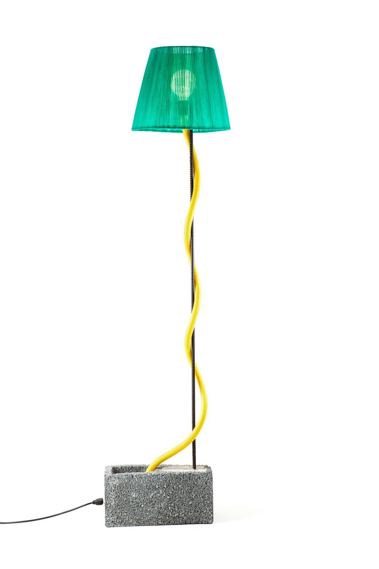 Arts and Crafts Célia Floor Lamp For Sale