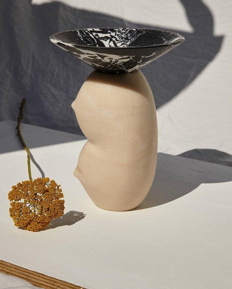 Celia, Marble Contemporary Vase, Valentina Cameranesi 5
