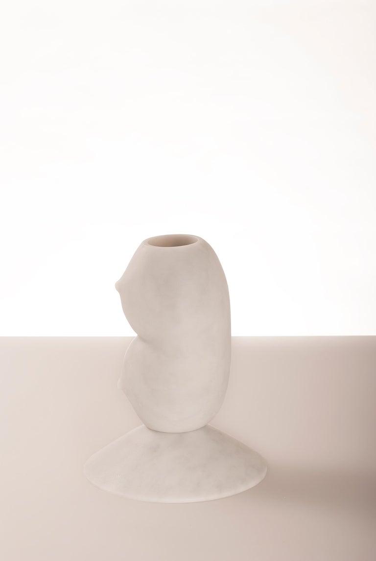 Modern Celia, Marble Contemporary Vase, Valentina Cameranesi