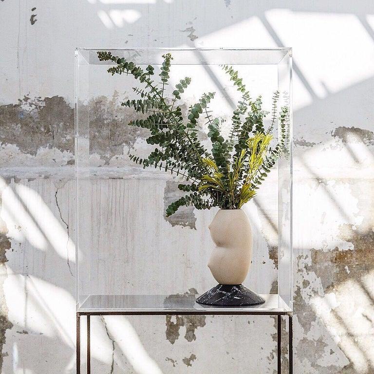 Celia, Marble Contemporary Vase, Valentina Cameranesi In New Condition In Geneve, CH