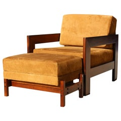 Celina Armchair by Celina Zilberberg Rosewood and Leather Jacaranda