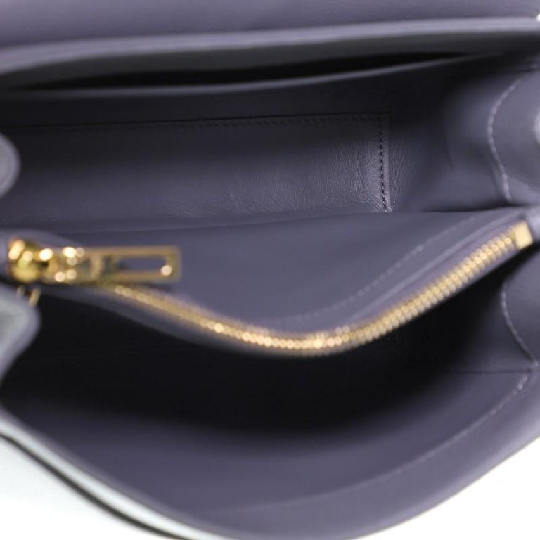 Celine 16 Top Handle Bag Grained Calfskin Small 1
