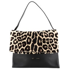 Celine All Soft Bag Printed Pony Hair with Leather
