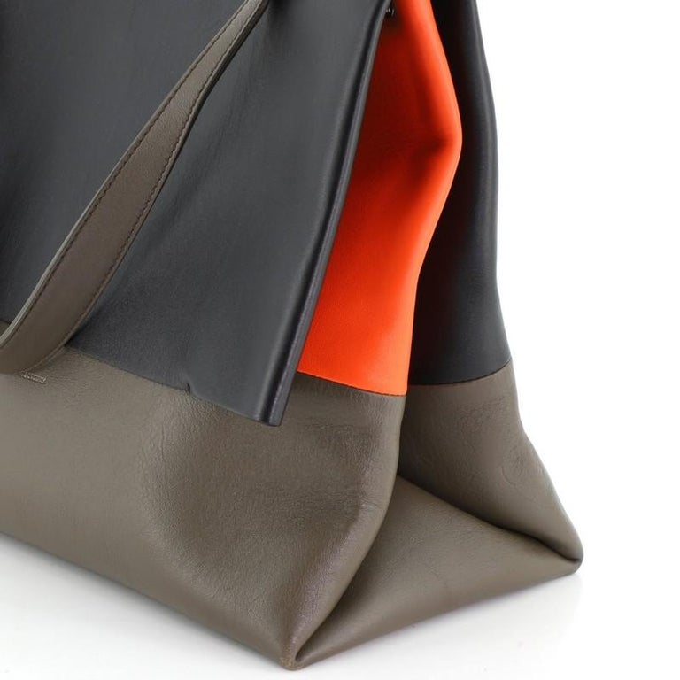 Celine All Soft Bag Suede with Leather For Sale 2