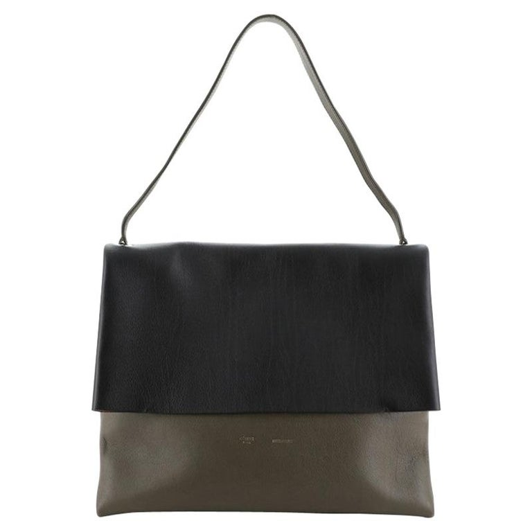 Celine All Soft Bag Suede with Leather For Sale