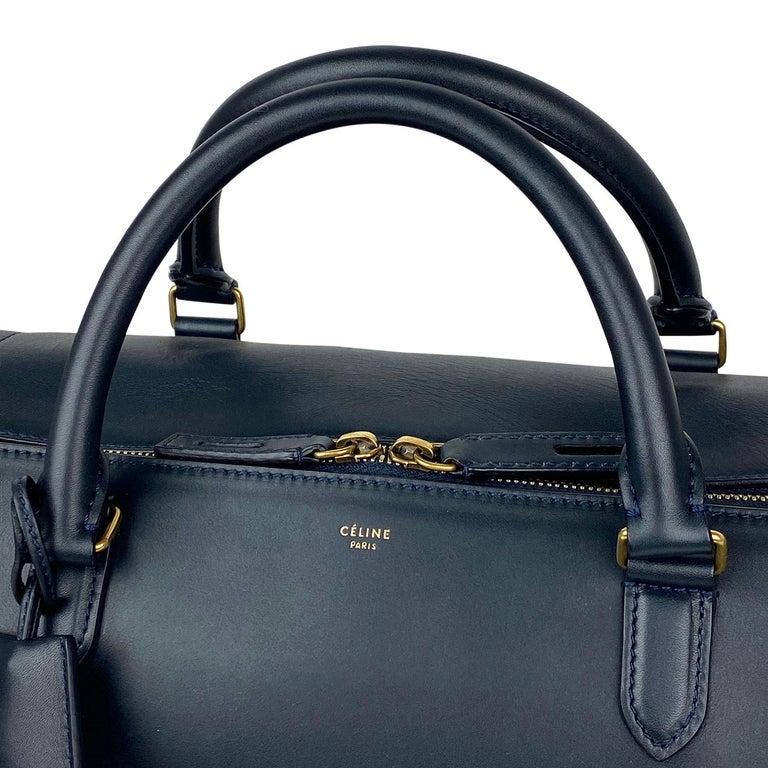 Celine Asymmetrical Duffle Bag For Sale 4