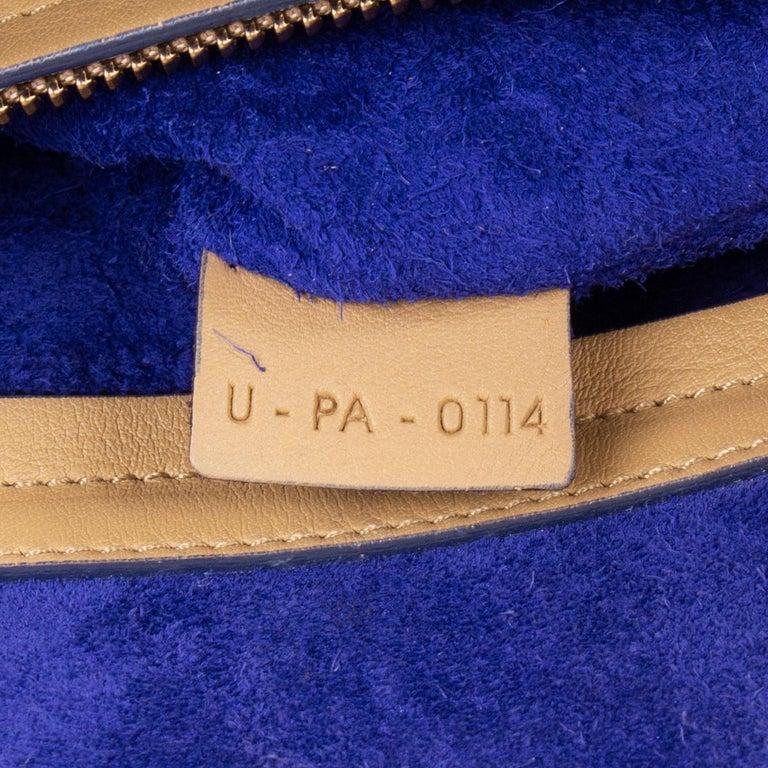 CELINE beige leather PHANTOM LUGGAGE Tote Bag For Sale 1