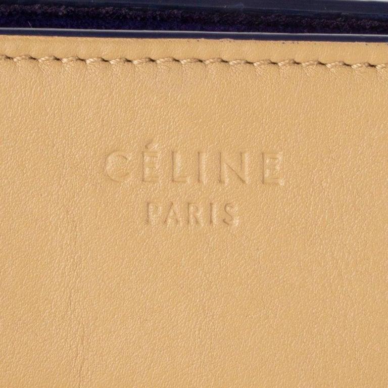 CELINE beige leather PHANTOM LUGGAGE Tote Bag For Sale 2