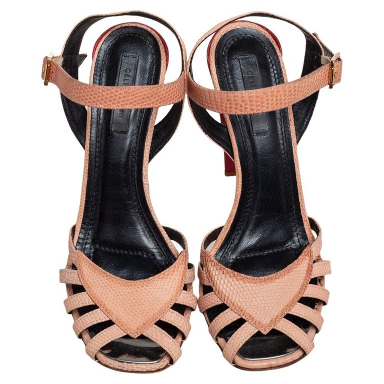 Strappy sandals are a must-have for all women because they have always been in style. Therefore, these Celine sandals are absolutely worth owning as they are gorgeous and are designed with straps made from leather. They are complete with