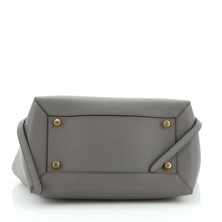 Celine Belt Bag Textured Leather Medium In Good Condition For Sale In New York, NY
