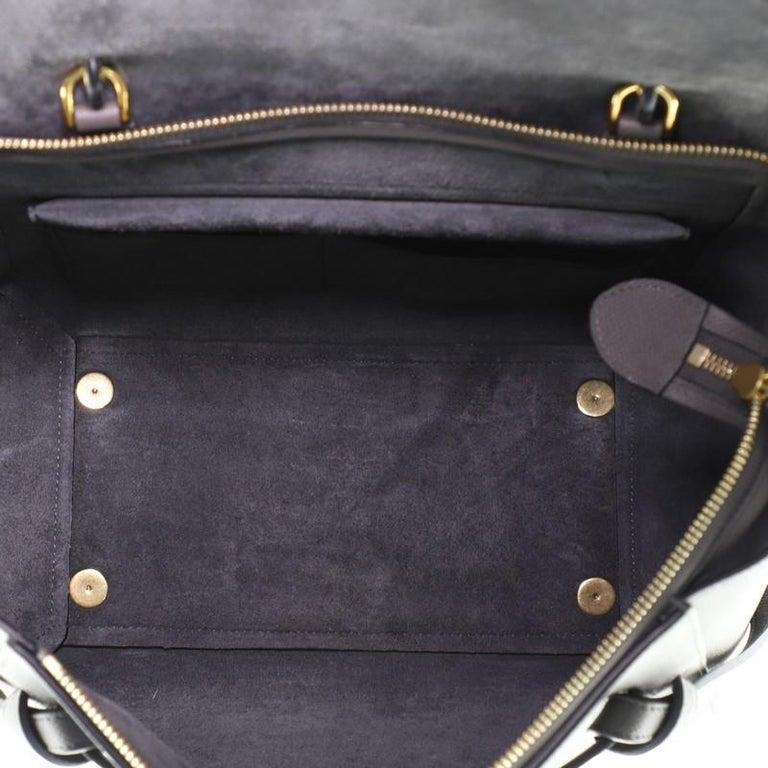 Women's or Men's Celine Belt Bag Textured Leather Medium For Sale