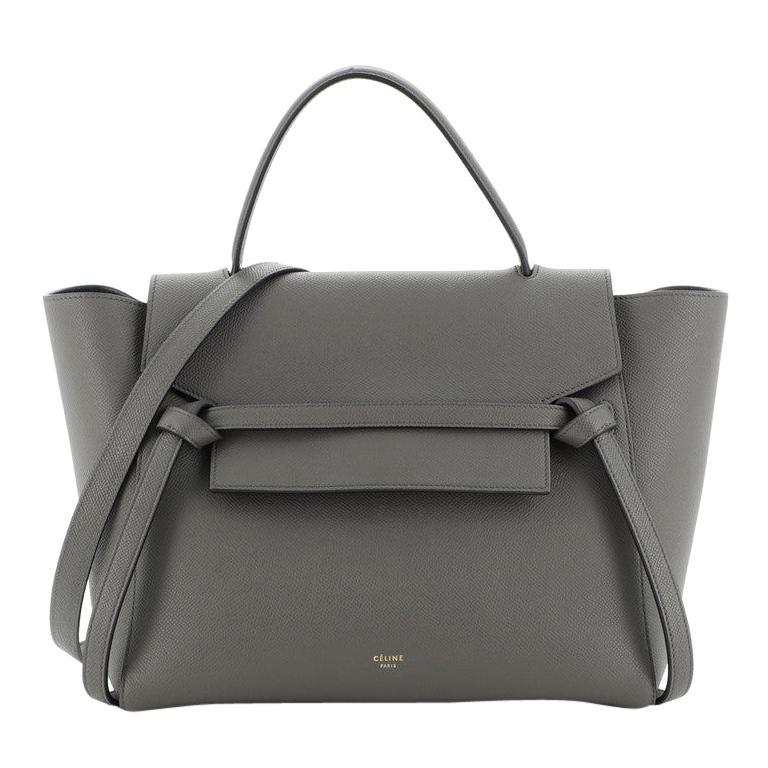 Celine Belt Bag Textured Leather Medium For Sale