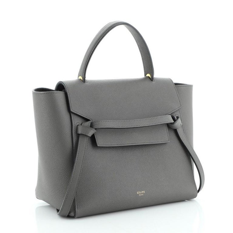 Celine Belt Bag Textured Leather Micro In Good Condition For Sale In New York, NY