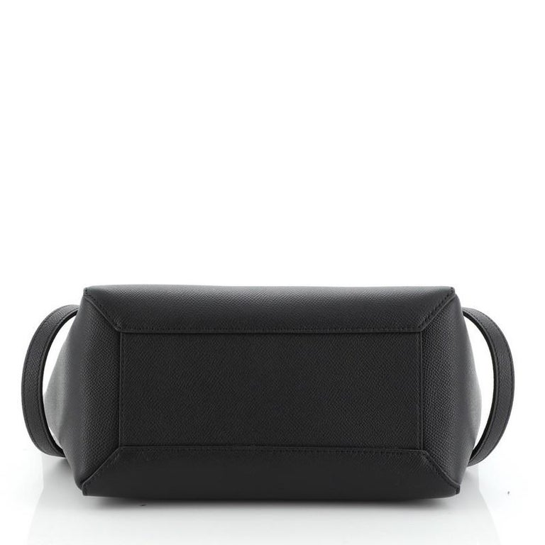 Celine Belt Bag Textured Leather Micro  In Good Condition In New York, NY