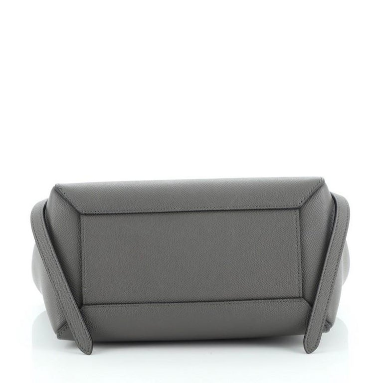 Celine Belt Bag Textured Leather Micro For Sale 1