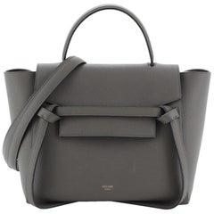 Celine Belt Bag Textured Leather Micro