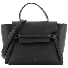 Celine Belt Bag Textured Leather Micro