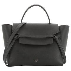 Celine Belt Bag Textured Leather Mini