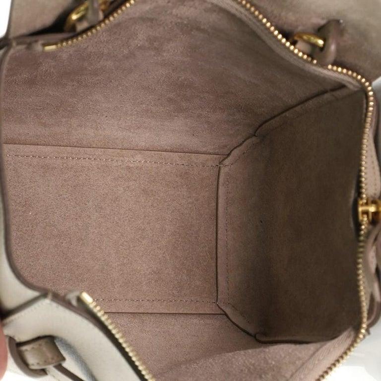Celine Belt Bag Textured Leather Nano For Sale 1