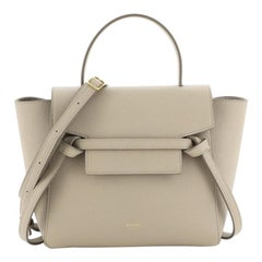 Celine Belt Bag Textured Leather Nano