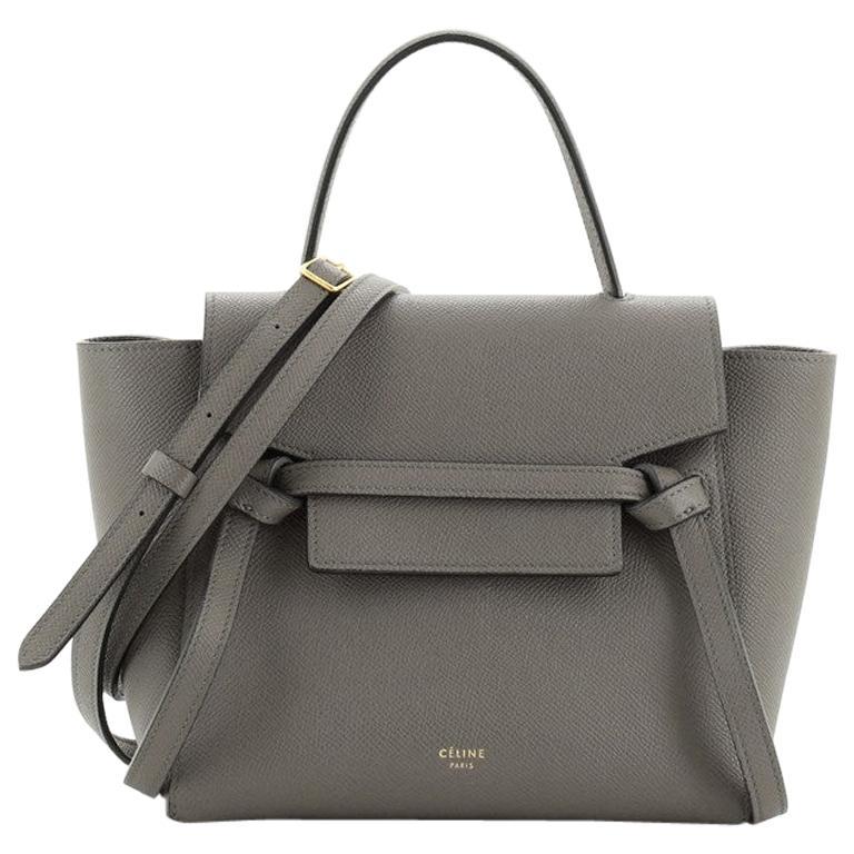 Celine Belt Bag Textured Leather Nano