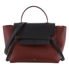 Celine Bicolor Belt Bag Leather Mini
