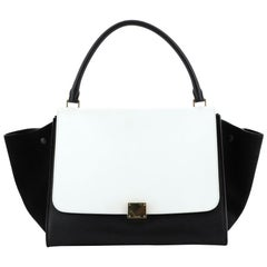 Celine Bicolor Trapeze Bag Leather Large