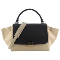 Celine Bicolor Trapeze Bag Leather Medium