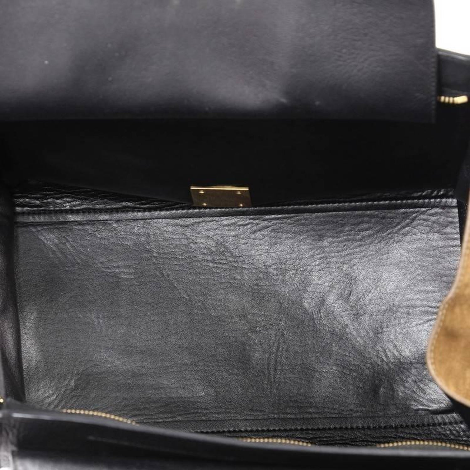 dd25fd59498a Celine Bicolor Trapeze Leather Medium at 1stdibs