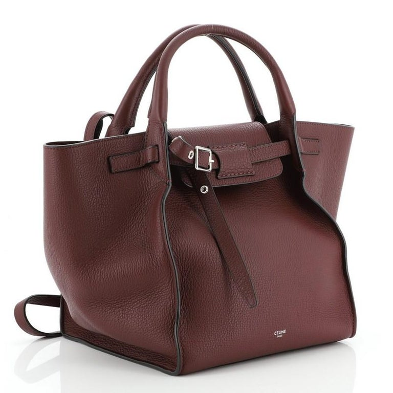 Celine Big Bag Grained Calfskin Small In Good Condition For Sale In New York, NY
