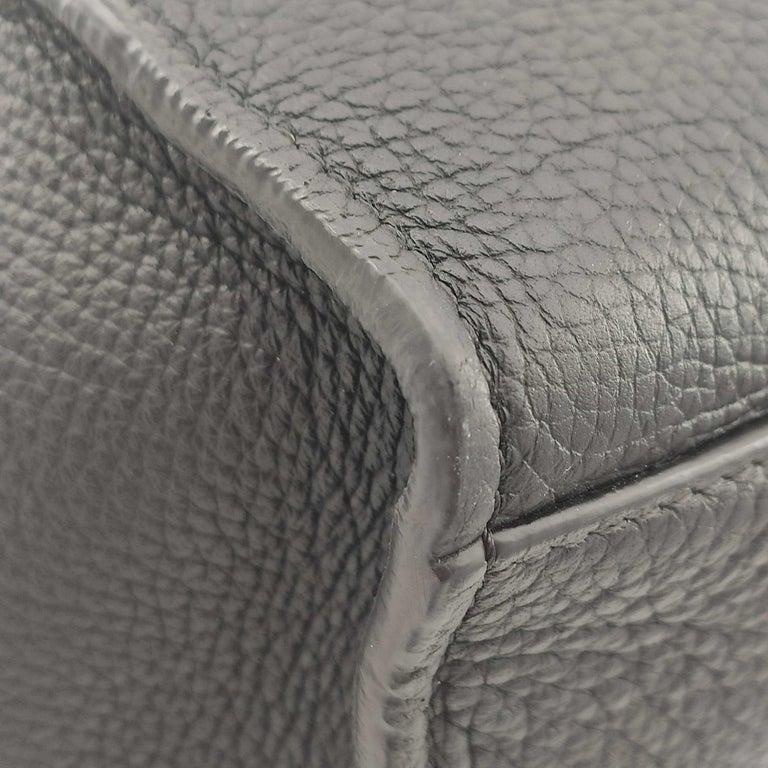 CÉLINE Big bag Shoulder bag in Black Leather For Sale 7