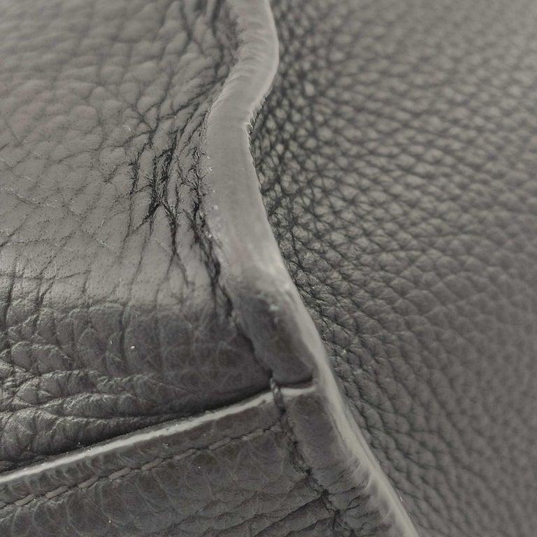 CÉLINE Big bag Shoulder bag in Black Leather For Sale 8
