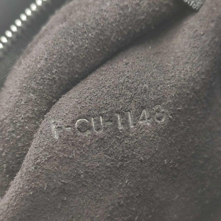 CÉLINE Big bag Shoulder bag in Black Leather For Sale 4
