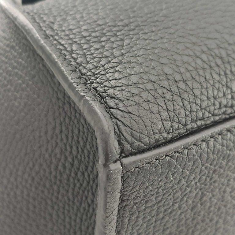 CÉLINE Big bag Shoulder bag in Black Leather For Sale 5
